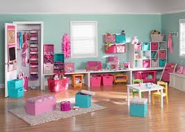 Headboard Wall Unit Kids Room Storage Ideas Varnished Wood Cabinet Varnished Wood Wall