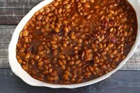 homemade baked beans for the slow cooker