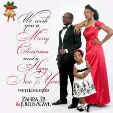 julius agwu releases seasonal family greeting card jaguda
