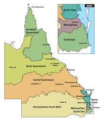 map of queensland our schools