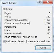 How To Count Number Of Words In Word Document Where Is The Word Count In Microsoft Word 2007 2010 2013 And 2016