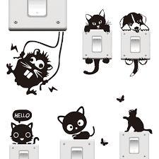 popular wall stickers animals black buy cheap wall stickers wall stickers animals black