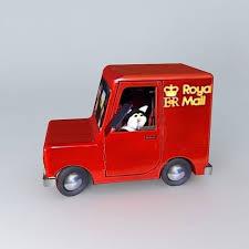 postman pat u0027s van 3d model cgtrader