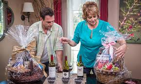 the wine and chocolate gift baskets with cristina hallmark channel