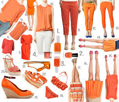 summer it colour orange nail polishes u0026 best pieces