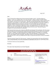 Letter For Vacation Request Event Sponsorship Request Letter Template
