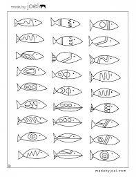 printable fish coloring pages for kids pictures of real free