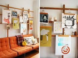 how to hang without nails hanging art without nails great pic with diy ways display art at