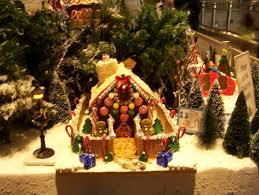 epcot christmas gingerbread display at the land walt disney world