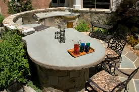 home design essentials kitchen simple outdoor kitchen countertop materials excellent