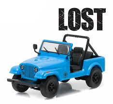 turquoise jeep cj amazon com greenlight lost jeep cj 7