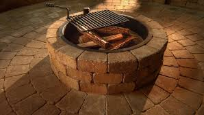 Outdoor Firepit Kit Compact Ring Kit Necessories Kits For Outdoor Living