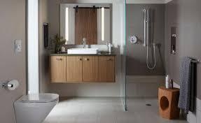 wallpaper designs for bathrooms kohler explores the spectrum of modernism at milan design week