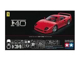 model f40 tamiya 1 24 f40 model kit 24295 26 99