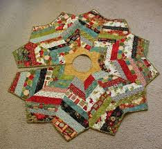 Quilted Christmas Tree Skirts To Make - 229 best christmas tree skirts images on pinterest patchwork