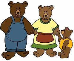 goldilocks and the three bears clipart free download clip art