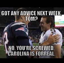 Drew Brees Memes - drew brees seeks advice from tom brady on playing the panthers