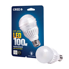 100 watt led light bulb cree makes the biggest thing since the light bulb brighter and more