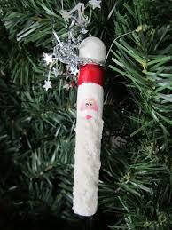 craft idea santa ornaments the saturday evening post
