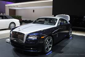 rolls royce wraith umbrella 9 things about one of the opulent cars ever built 2016 rolls