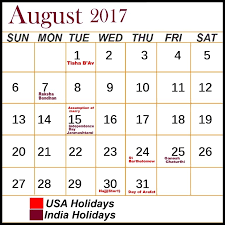 2017 holidays usa sportstle