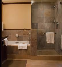 walk in doorless showers cool glass doorless shower design decor