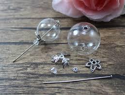 glass ball necklace images Ethnic tribal necklaces amulet locket cases planter pet bottle JPG