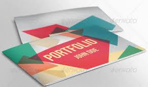 25 really awesome portfolio brochure templates web u0026 graphic