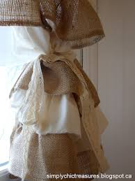 Ruffled Kitchen Curtains Burlap Muslin Ruffled Curtains Gotta Make These Would Be So