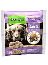 buy natures menu frozen raw nuggets 9 x 1kg bags so total of 9kg