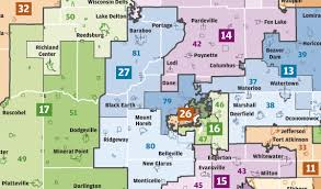 Madison Wi Map Dane County Should Show State Lawmakers How To Draw Fair Voting