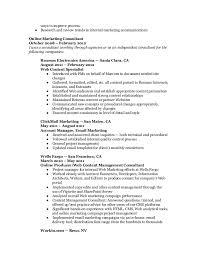 Online Marketing Resume by Marketing Resume Web