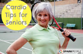 Chair Cardio Exercises Cardio Exercise Tips For Seniors Sparkpeople