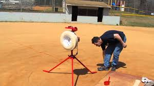 combo pitching machine baseball softball batting practice youtube