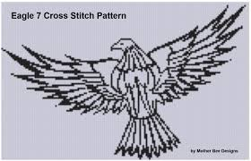 smashwords eagle 7 cross stitch pattern a book by bee
