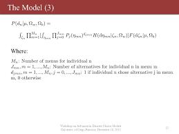 bureau de change cergy personalized recommendations discrete choice models with inter
