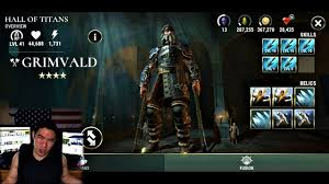 grinding for thor 1 dawn of titans with dbr gameplay