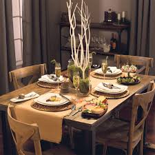 Dining Room Table Settings Ideas by Three Creative Ideas For Holiday Party Themes And Décor The
