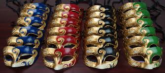 venetian masks bulk men s venetian mask party pack sweet 16 mask party