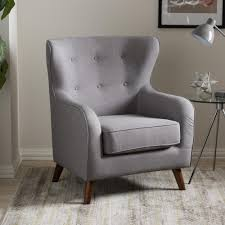 upholstered club chair home decorators collection more linen dove grey club chair
