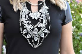 long crystal statement necklace images Ootd large statement necklaces jpg