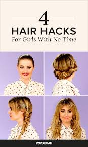 time crunch 4 hairstyles that will get you out the door greasy