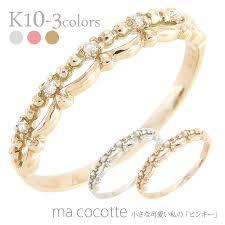 ring finger rings images Auc eternal rakuten global market k10 gold rings diamonds 0 02 jpg