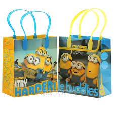 minion gift bags despicable me minions le buddies premium quality