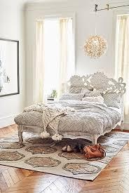 handcarved lotus bed anthropologie