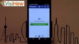 tutorial membuat instagram in my hand install and setup instagram on microsoft lumia 535 visihow