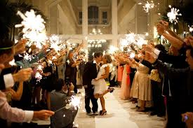 Sparklers Ignite Your Night With Sparklers At Your Wedding