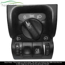 vauxhall algeria vauxhall vectra b headlamp light switch 90504970 hk ps ebay