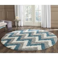 chevron round rugs u0026 area rugs for less overstock com