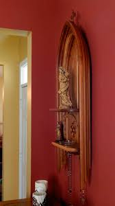 Wood Shelf Support Designs by Catholic Home Altar On A Shelf Home Altar Ideas Pinterest